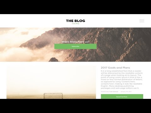 Web Design Speed Art - Blog Website in Adobe Xd