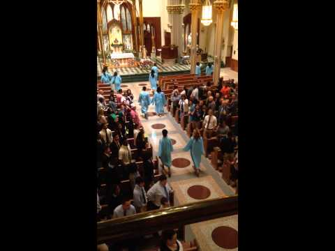 """Here I Am, Lord"" Baccalaureate Mass Kolbe Cathedral High School 2015"