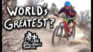 Does This MTB Trail Live Up To It's Name? // The Singletrack Sampler