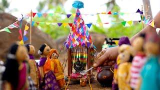 Tiny Aadi Ther Thiruvizha || Traditional Tamil Festival || Kambu Koozh Recipe || #shorts
