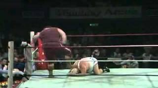 BIG DADDY vs GIANT HAYSTACKS 1981