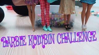 Barbie Kombin Challenge !! 1 dakikada en güzel kombini kim yapacak* Bidünya Oyuncak