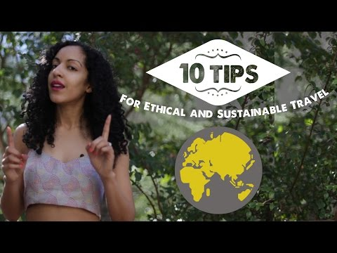 TOP 10 ECO-FRIENDLY TRAVEL TIPS