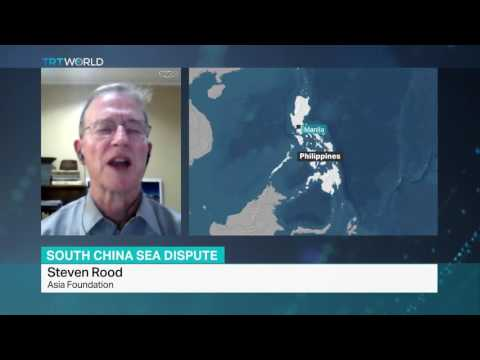 Interview with Steven Rood about arbitration tribunal's verdict on South China Sea