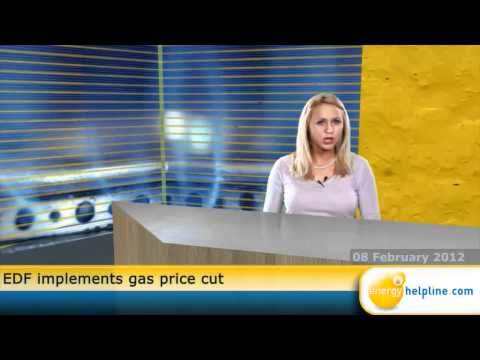 EDF implements gas price cut