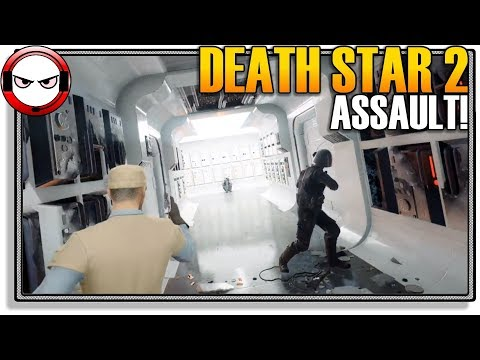 ASSAULT on the Death Star 2! (Star Wars Battlefront 2 Gameplay)