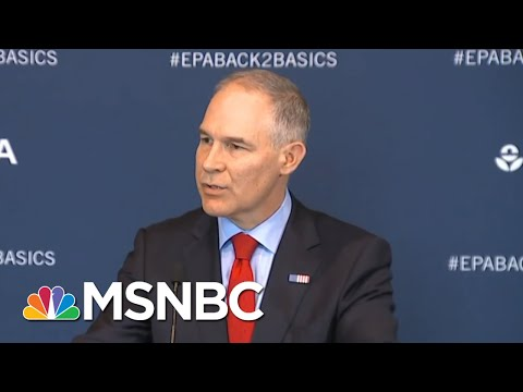 Scott Pruitt's Growing Scandals | All In | MSNBC