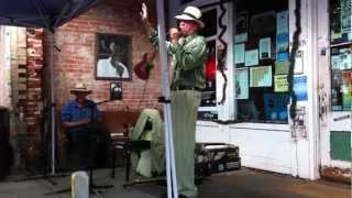 "Watermelon Slim - ""Keep Your Lamps Trimmed and Burning"" (2012 Juke Joint Festival)"