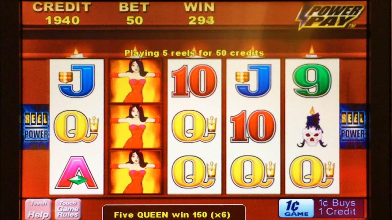 Wicked winnings slot machine