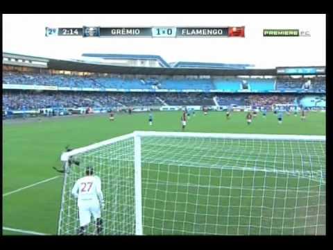 Grêmio 2 x 0 Flamengo - Campeonato Brasileiro Série A 2012 - 24/06/2012 - Jogo Completo