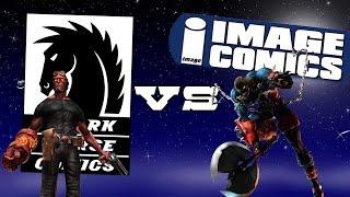 Одно из двух 10 Dark Horse Vs Image Comics