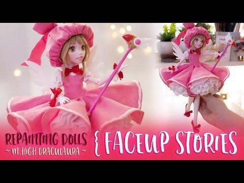 Repainting Dolls - Card Captor Sakura - Faceup Stories ep.61