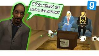 SOCIAL DISTANCING with VANOSS, WILDCAT, TERRORISER & MOO! (Gmod Deathrun Funny Moments)