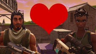 Trying To Make Friends In Fortnite...