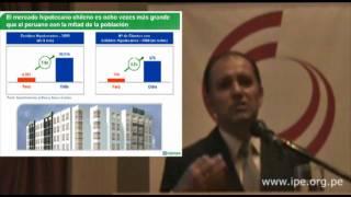 José Zapata: El crédito como herramienta de desarrollo del sector construcción