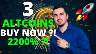 Top 3 Altcoins Ready To EXPLODE in September 2021| BEST Crypto NOW 2200% ?! MAJOR CRYPTO NEWS !