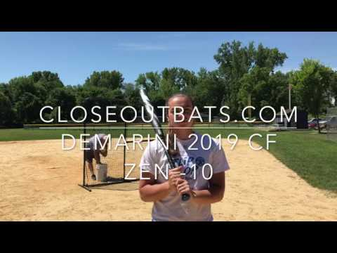 DeMarini CF Zen Fastpitch Bat -10oz (2019) Closeoutbats.com