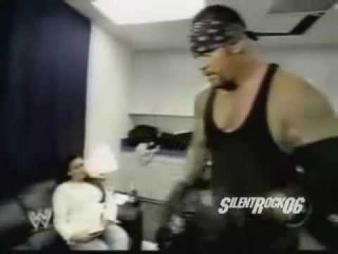Undertaker,Sara,Matt Hardy and Brock Lesnar Segment