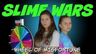 SLIME WARS || SLIME CHALLENGE || Taylor and Vanessa
