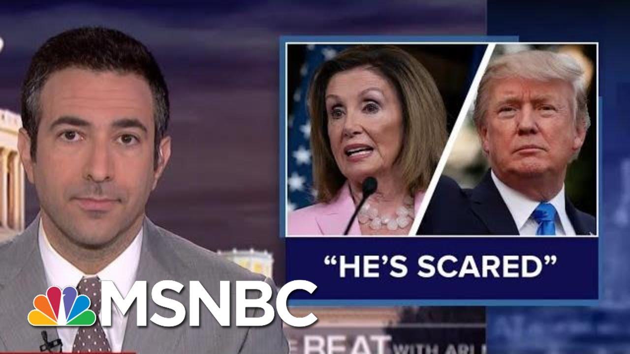 Nancy Pelosi Knocks 'Scared' Trump As Ukraine Scandal Fuels Impeachment Push