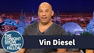 Vin Diesel First Met Paul Walker in the Tonight Show