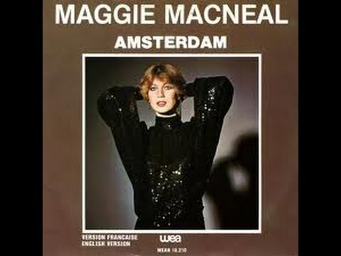 Maggie MacNeal - Amsterdam (Lyrics / Songtekst) ¤ ESC Netherlands 1980