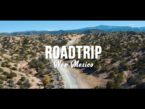 New Mexico by Drone (4K)