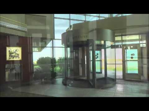 Tourlock 120S One-Way Revolving Door at Airport