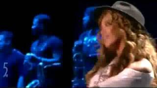Jay-z & beyonce performing duet - forever young [beyonce] let's dance in style, for a while heaven can wait, we're only watchin the skies hopin f...