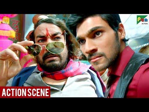 Bellamkonda Srinivas Market Fight Scene | Saakshyam - The Destroyer Movie Scene | Hindi Dubbed Movie