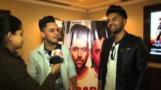 Guru Randhawa and Milind Gaba on the launch of their new single Ýaar Mod Do'
