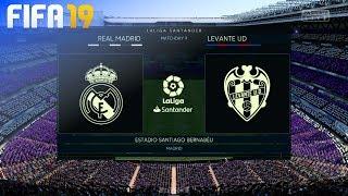 Download Video FIFA 19 - Real Madrid vs. Levante UD @ Estadio Santiago Bernabéu MP3 3GP MP4