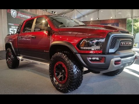 2017 RAM Rebel TRX Concept Start Up/ First Look - YouTube