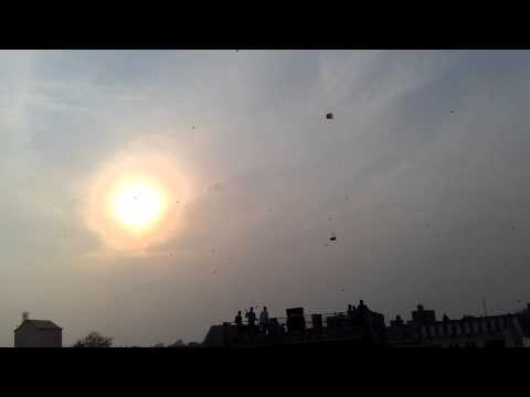 basant at punjab 2013(kite festival in india)......