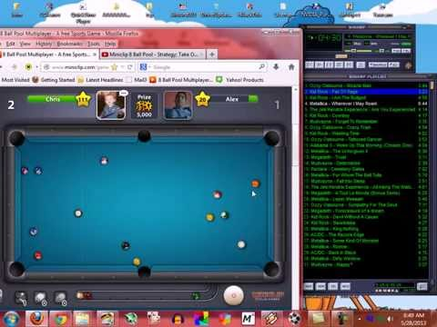 Miniclip 8 Ball Pool - Chris (My Primary Account) - close to perfect game