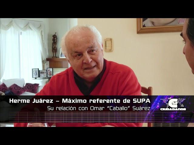 Herme Juárez - máximo referente de SUPA - Ciudadanos 12 07 20