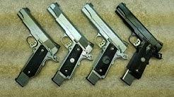 Top 4 Best 1911 Pistols- Ed Brown, Les Baer, Nighthawk Custom, Wilson Combat .45 ACP