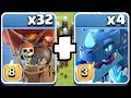 "RED & BLUE!! Power house team!! ""Clash Of Clans"" new lvls upgraded."