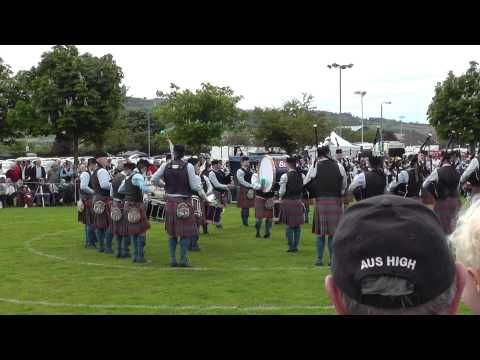 Ards 2014 - Bleary & District Pipe Band - Medley