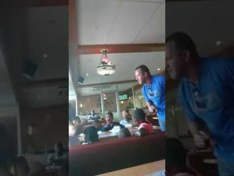 Racist cought on camera on Human Rights Day...  Only in S.A