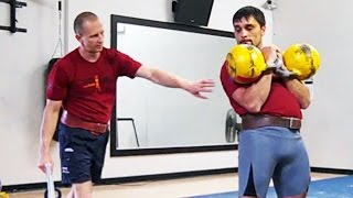 Kettlebell jerk technique explanation by Sergey Rudnev
