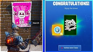 How To Get SHOWTIME CHALLENGES and Showtime Poster LOCATIONS in Fortnite!