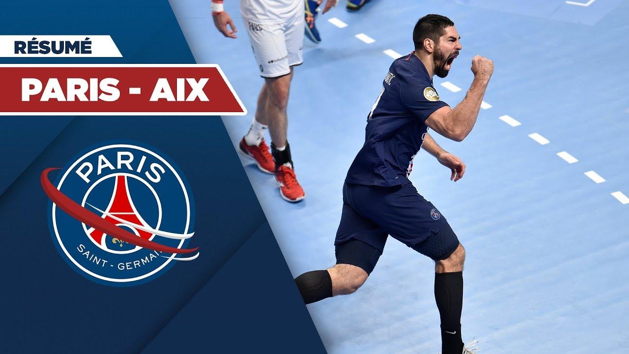 le r u00e9sum u00e9   psg handball - aix