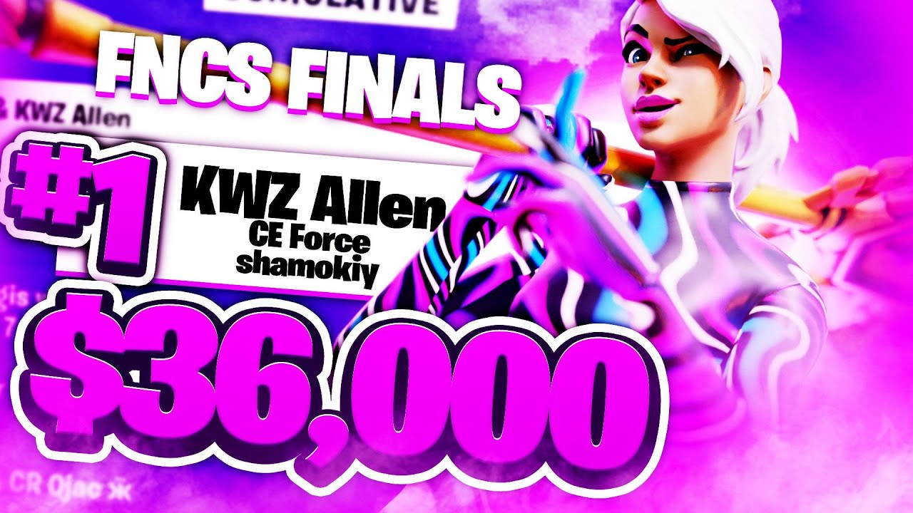 【FNCS1位】FNCSグランドファイナル優勝しました!1st Place Trio FNCS Grand Finals 🏆 ($36,000)