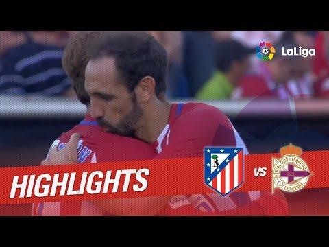 Resumen de Atlético de Madrid vs Deportivo de la Coruña (1-0)