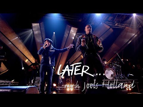 Bugzy Malone and JP Cooper perform Ordinary People on Later... with Jools Holland