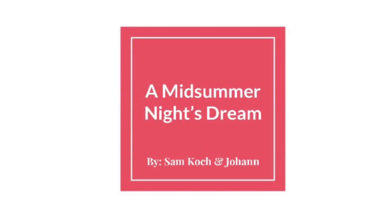 mendelssohn midsummer nights dream overture analysis