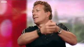 Magnus Scheving & Julianna Mauriello at BBC Breakfast (LazyTown)