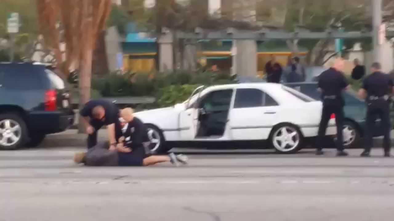 Download Cops arresting a guy in Culver City 5:20 pm 2/6/15