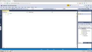 كيفية إنشاء جديد ''ج'' مشروع في Visual Studio (2015 فما فوق)